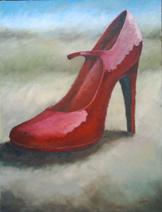 Shoe Diaries and the Lost Soles   Paintings