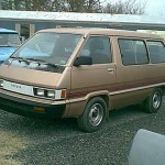 This van was one of my favorite vehicles, it could hold three mountain bikes inside and still have room for their riders. It went off-road like it was made for it and never broke down. Sometimes I miss the Van.