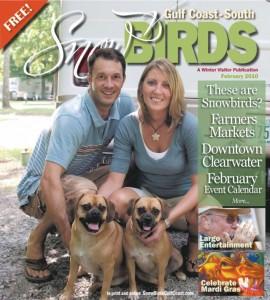 February 2010, Snowbirds Cover