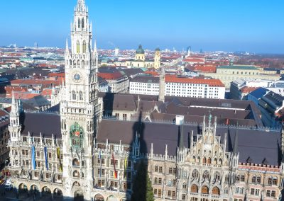 Rathaus from Above